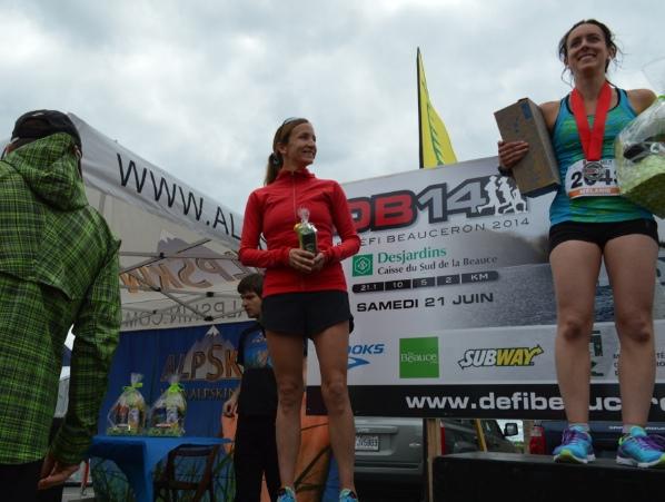 Défi Beauceron - Une première place soulignée en grand