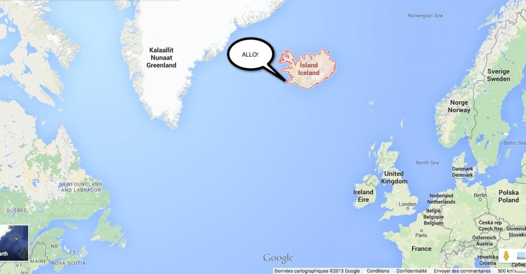 Allo je suis enfin en Islande! Comment ne pas profiter du moment hein, comment?