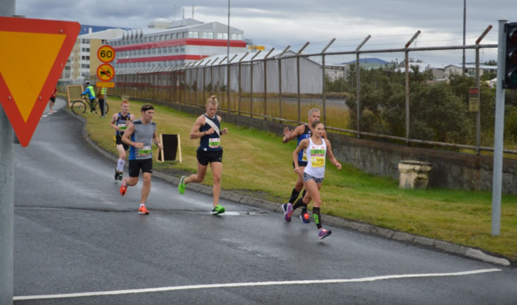 La gagnante du marathon, Kaisa Kukk.