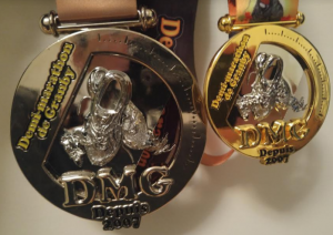 Médailles du 21k de Granby 2017